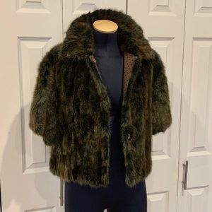 Louis Vuitton Mink Fur Boléro